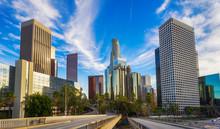 Los Angeles City Skyline