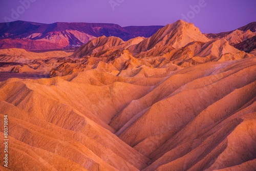 Death Valley Badlands Formation