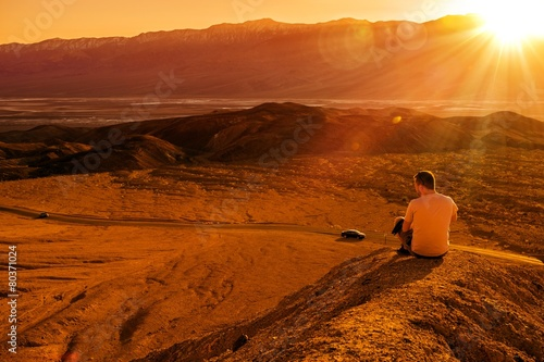 Fotografie, Obraz  Death Valley Private Vista
