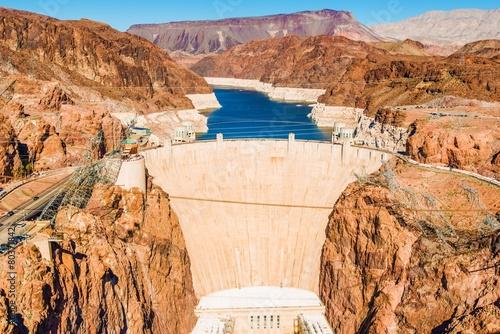 Zdjęcie XXL Hoover Dam w Lake Mead