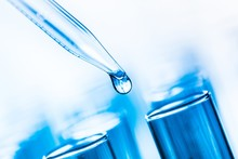 Chemistry. Microbiological Pipette In The Genetic Laboratory