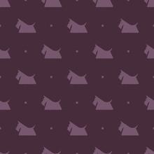 Dog Scottish Terrier Pattern