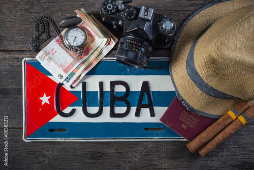 Holiday preparation, destination Cuba