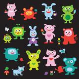 Fototapeta Pokój dzieciecy - cute monsters
