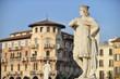 Statua e palazzo, Padova