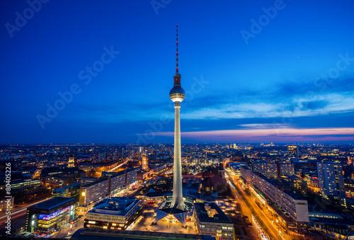 Fernsehturm Berlin - 80405226