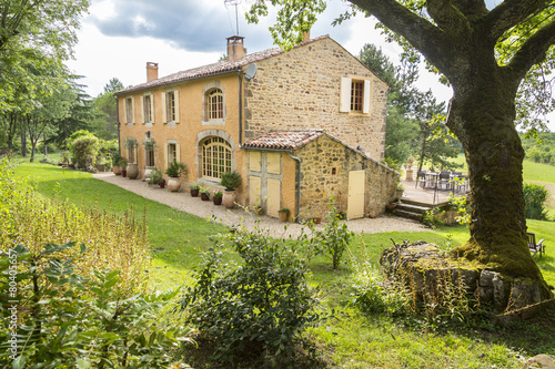 Old stone country house in the South of France
