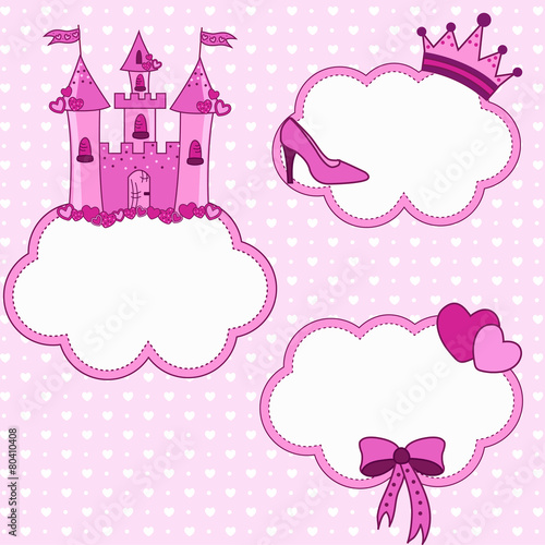 Cadres-photo bureau Hibou Set for a princess
