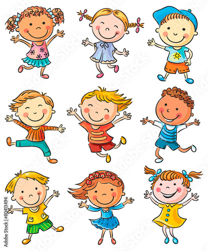 ilustracje-tanczacych-i-podskakujacych-dzieci