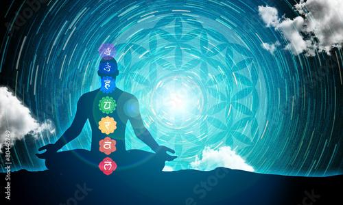 Photo  Meditation power