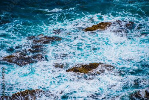 Foto op Aluminium Rivier reef Waves