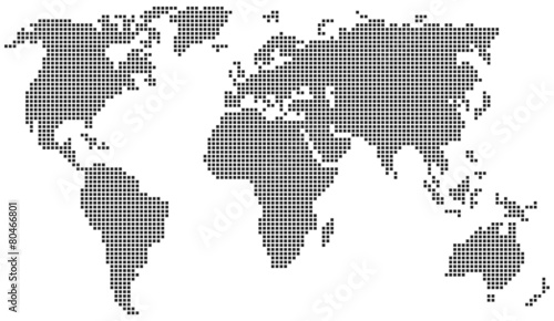 World map consisting of squares buy this stock vector and explore world map consisting of squares gumiabroncs Image collections