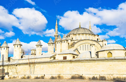 Photo  The Nuruosmaniye Mosque