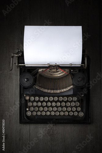 Antique Typewriter Canvas-taulu