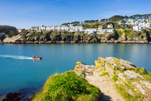 Fowey From Polruan Cornwall