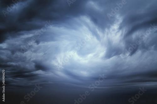 Keuken foto achterwand Hemel Storm Clouds