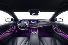 Car Interior Voilet Ambient Light