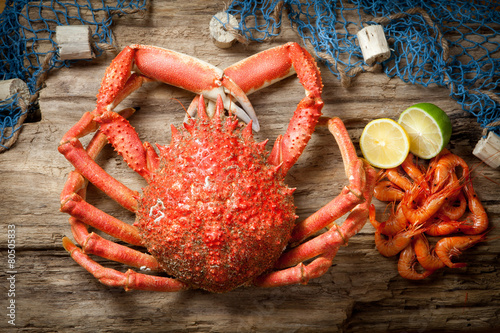 Poster Coquillage Seafood