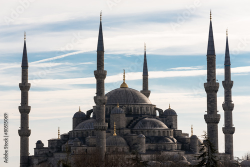 The Blue Mosque of Istanbul Poster