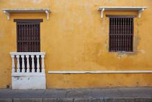 Historic Buildings In Cartagena De Indias