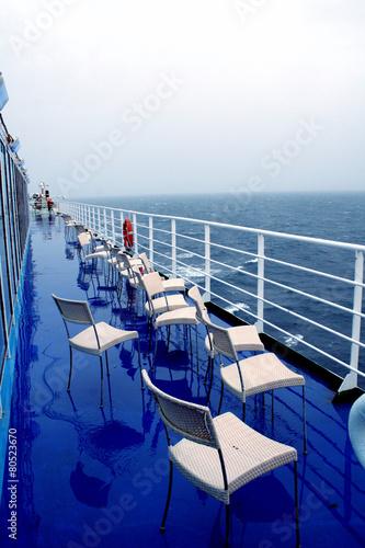 Foto op Aluminium Tunesië ship