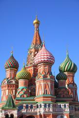 Fototapeta na wymiar St. Basil's cathedral in Moscow