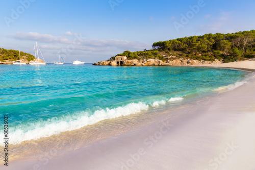 Majorca sAmarador beach Amarador in Mondrago
