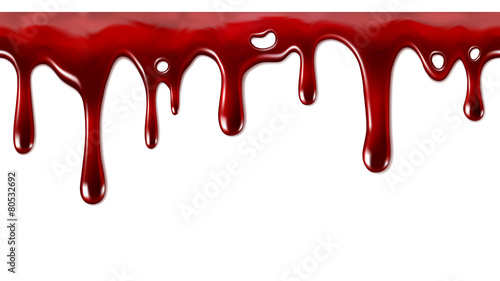 Fotografia Dripping blood seamless repeatable