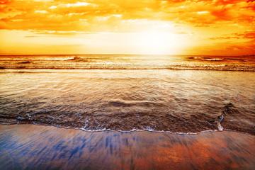 FototapetaWilderness Beach at sunset, South Africa