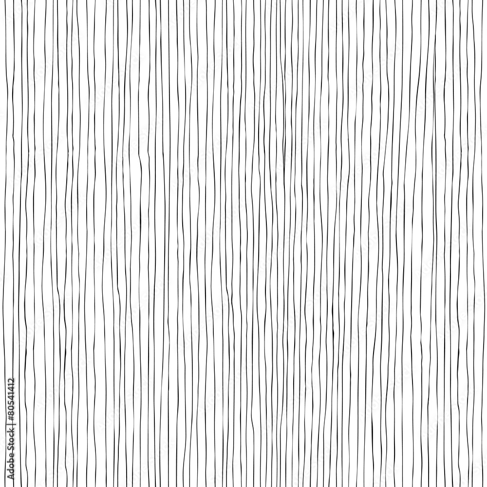 Fototapeta Seamless vertical lines hand-drawn pattern