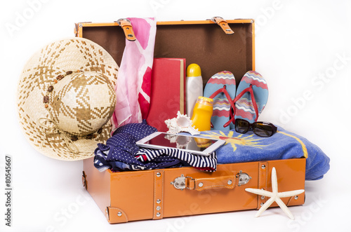 Fotografie, Obraz  ready to travel for the summer
