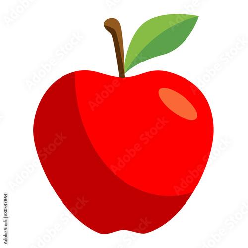 Cuadros en Lienzo Icono manzana
