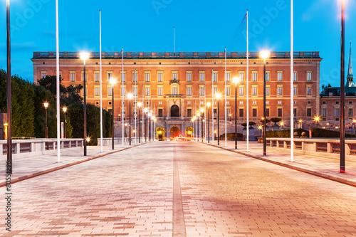 Foto op Plexiglas Caraïben Royal Palace in Stockholm, Sweden