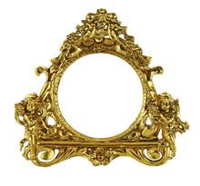 Cherub Gold Picture Frame