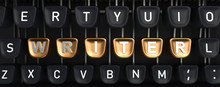 Typewriter With WRITER Buttons