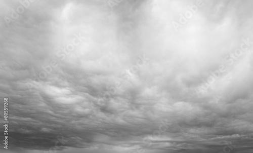 Obraz Grey overcast sky - fototapety do salonu