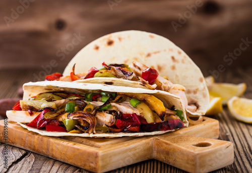 Stampe  Chicken fajitas