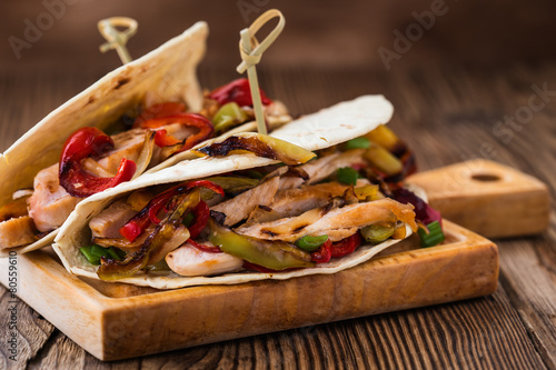 Photo  Chicken fajitas