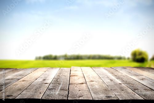 Staande foto Lente floor