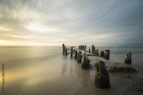 Fototapeta morze Bałtyk baltycki-zachod-slonca