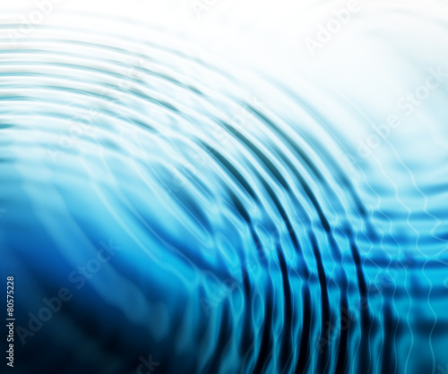 abstract water ripples background Wall mural