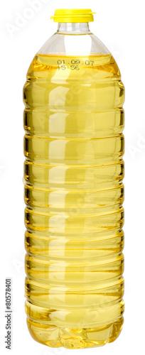 Fototapeta Ölflasche Sonnenblumenöl obraz