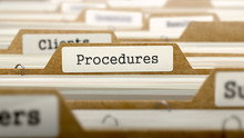Procedures Concept With Word O...