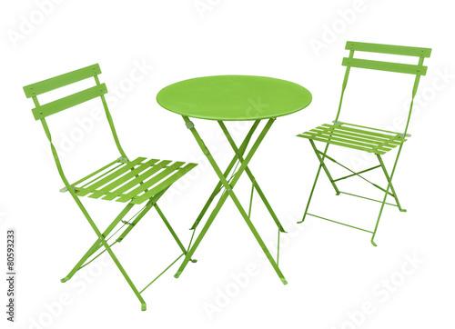 salon de jardin vert – kaufen Sie dieses Foto und finden Sie ...