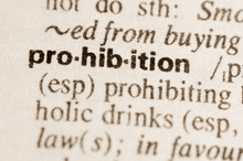 Dictionary Definition Of Word Prohibition