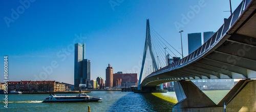 Foto op Canvas Rotterdam Rotterdam Erasmus