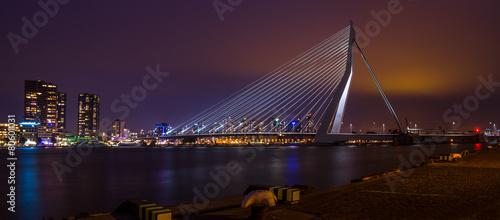 Staande foto Rotterdam Erasmus Brug Rotterdam