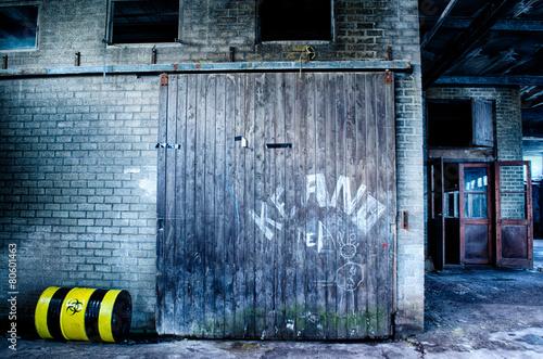 Fotografering  Verlaten industrie