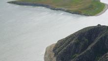 Aerial View Of Reservoir In Ca...