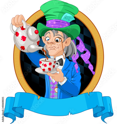 Photo Mad Hatter design